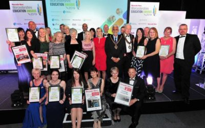 Winners of Worcestershire Education Awards 2019
